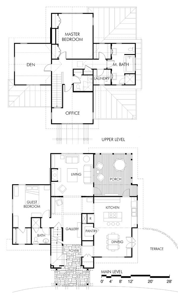 Not So Big House Plan Big Houses House Plans House Floor Plans