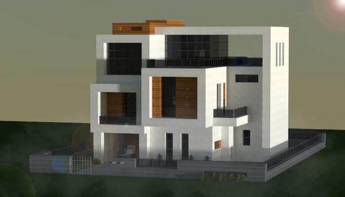 Small Modern House Minecraft Minecraft Modern Small Modern Home Modern House
