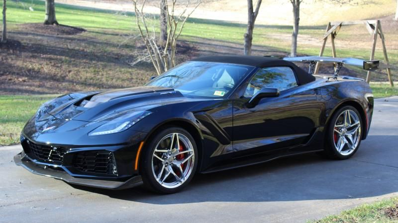 2019 3zr Corvette Zr1 Convertible 2019 Corvette Convertible For Sale Manassas Virginia Corvette Convertible Corvette Black Corvette