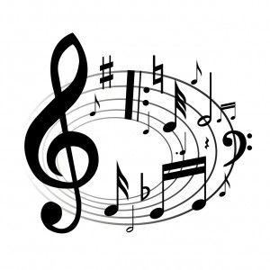 church choir clipart | music-notes-Clip-art | Church Choir Clip ...