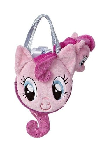 Aurora Plush My Little Pony Pinkie Pie Pink Horse Stuffed Animal