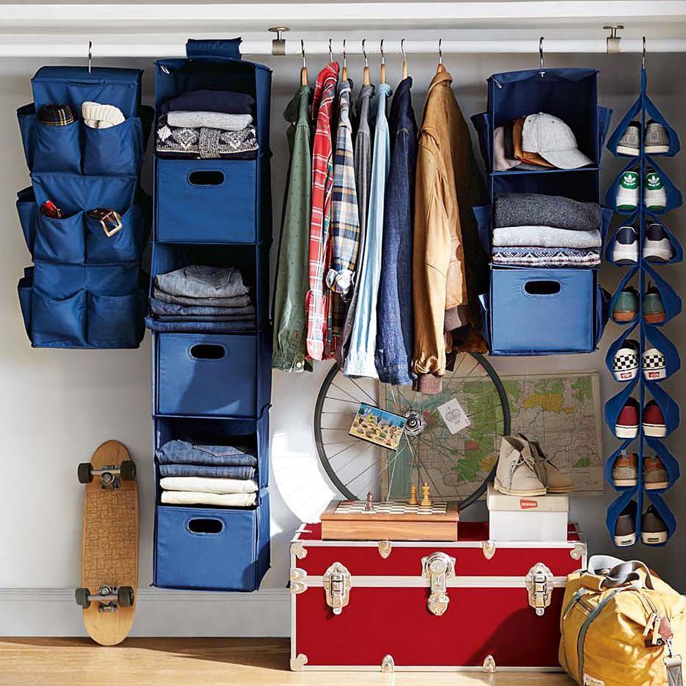 Perfect Rotating Hanging Closet Storage