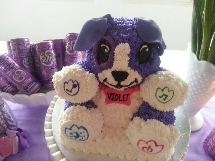 Violet Leapfrog My Pal Birthday Cake Purple Puppy Party In 2018