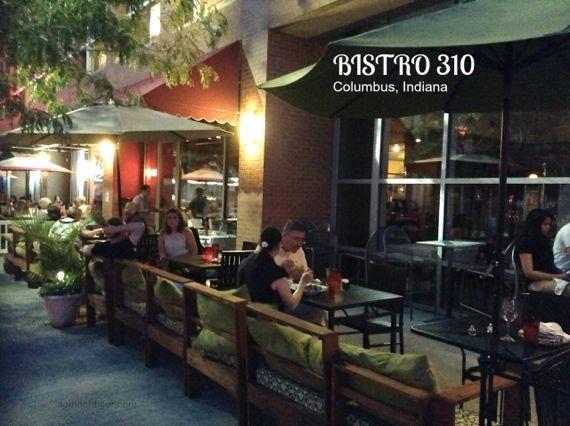 Bistro 310 Columbus Indiana Restaurants Travel Pinterest