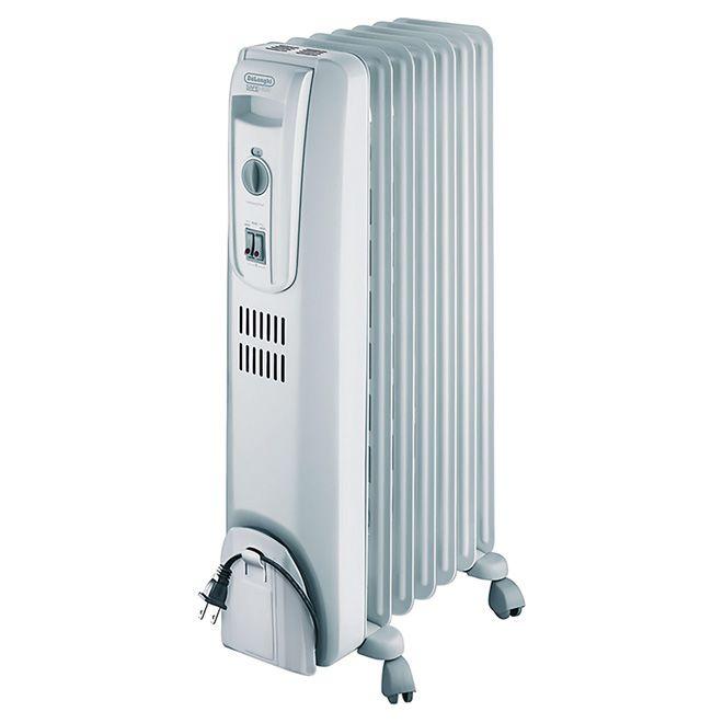 Portable Electric Oil Filled Heater 5120 Btu 1500 W Trh0715ca Rona Oil Filled Radiator Portable Heater Radiator Heater