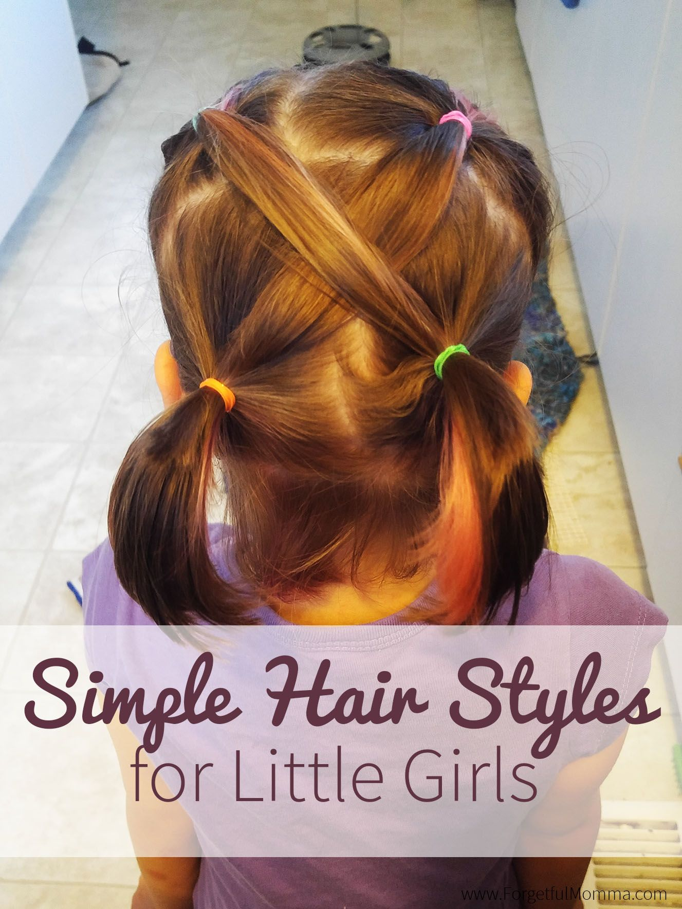 Back To School Hair Styles For Little Girls Forgetful Momma Little Girl Hairstyles Girl Haircuts Kids Hairstyles