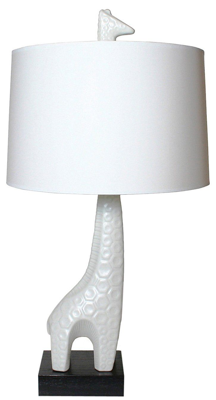 Animal Lamp For Nursery Jonathan Adler Giraffe Lamp 395 00 Animals Simplified Into Their