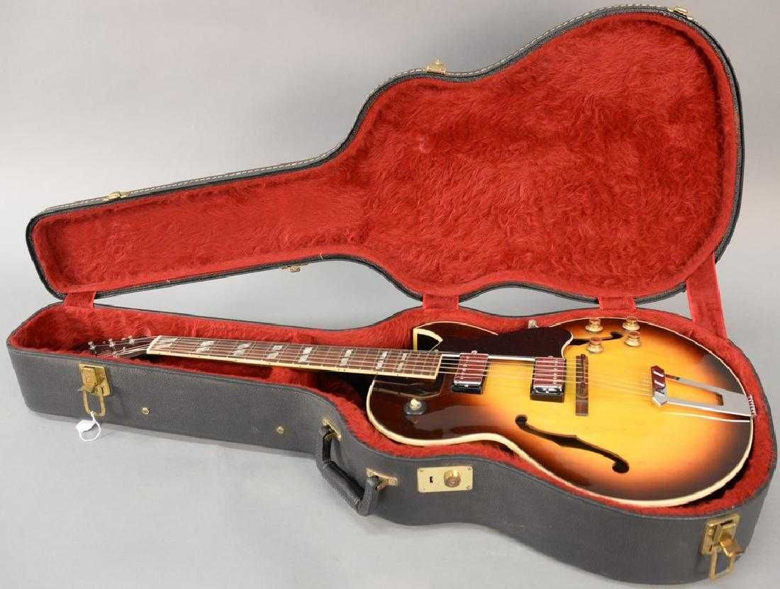 Gibson guitar ES 175D, serial number 968001 along with on #gibsonguitars