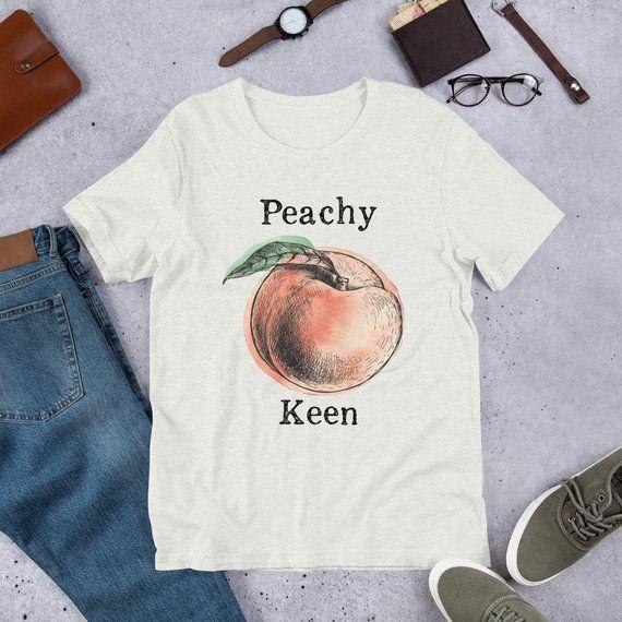 Peach Tshirt Expression Tees Fruit Shirt Peach Shirt Etsy Peach Shirt Fruit Shirt T Shirt