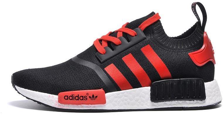 Adidas NMD Runner hombres mujeres rojo negro gimnasio zapato debe tener