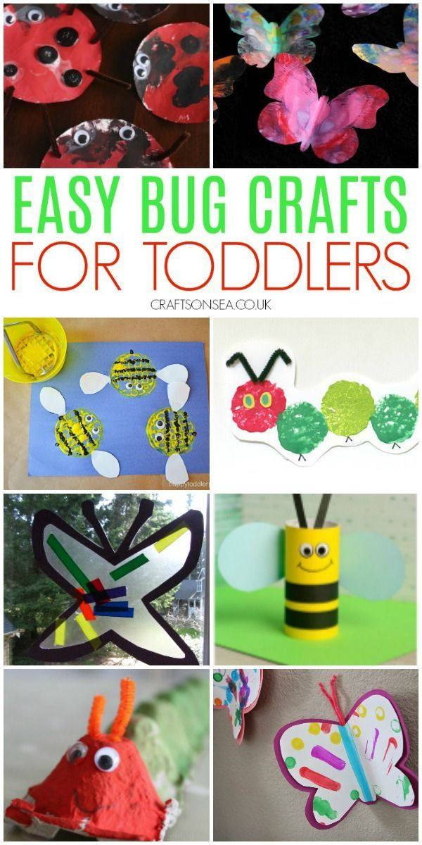 Bug Crafts For Toddlers Art Inspiration Ideas