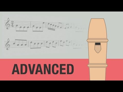 The Entertainer Recorder Notes Tutorial So Cool Animated