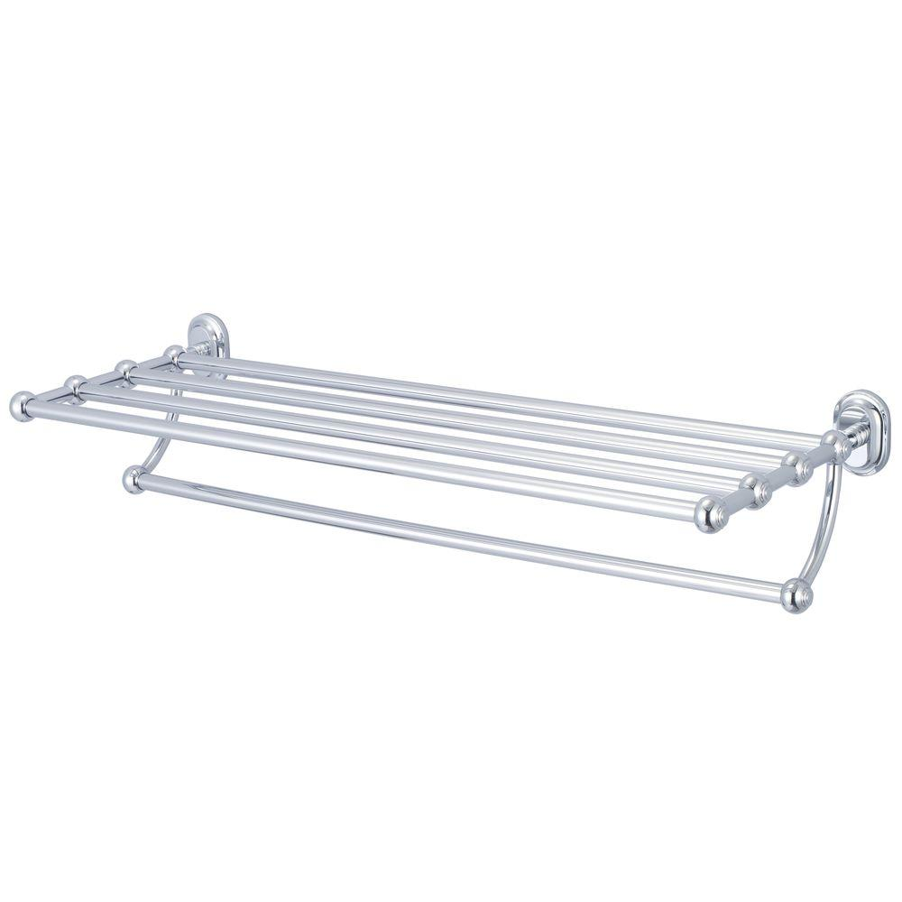 Water Creation 29 In Towel Bar And Bath Train Rack In Triple Plated Chrome Ba 0001 01 The Home Depot In 2021 Water Creation Vintage Bathroom Accessories Classic Bathroom Train rack towel bar