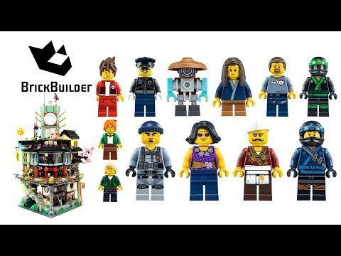 All Minifigs From Lego Ninjago 70620 Ninjago City Brick Builder