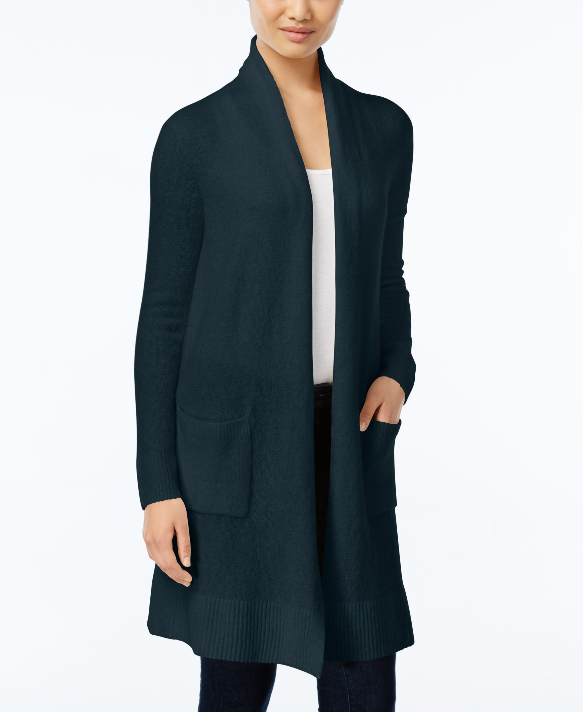 Michael Michael Kors Stand-Collar Duster Cardigan | Products ...