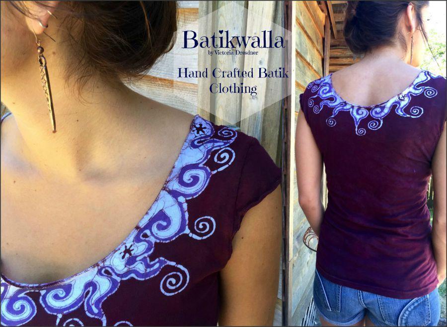 Handmade Batik Tops