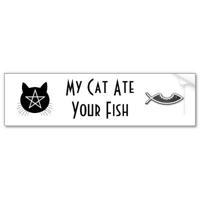 Funny Wiccan Bumper Stickers