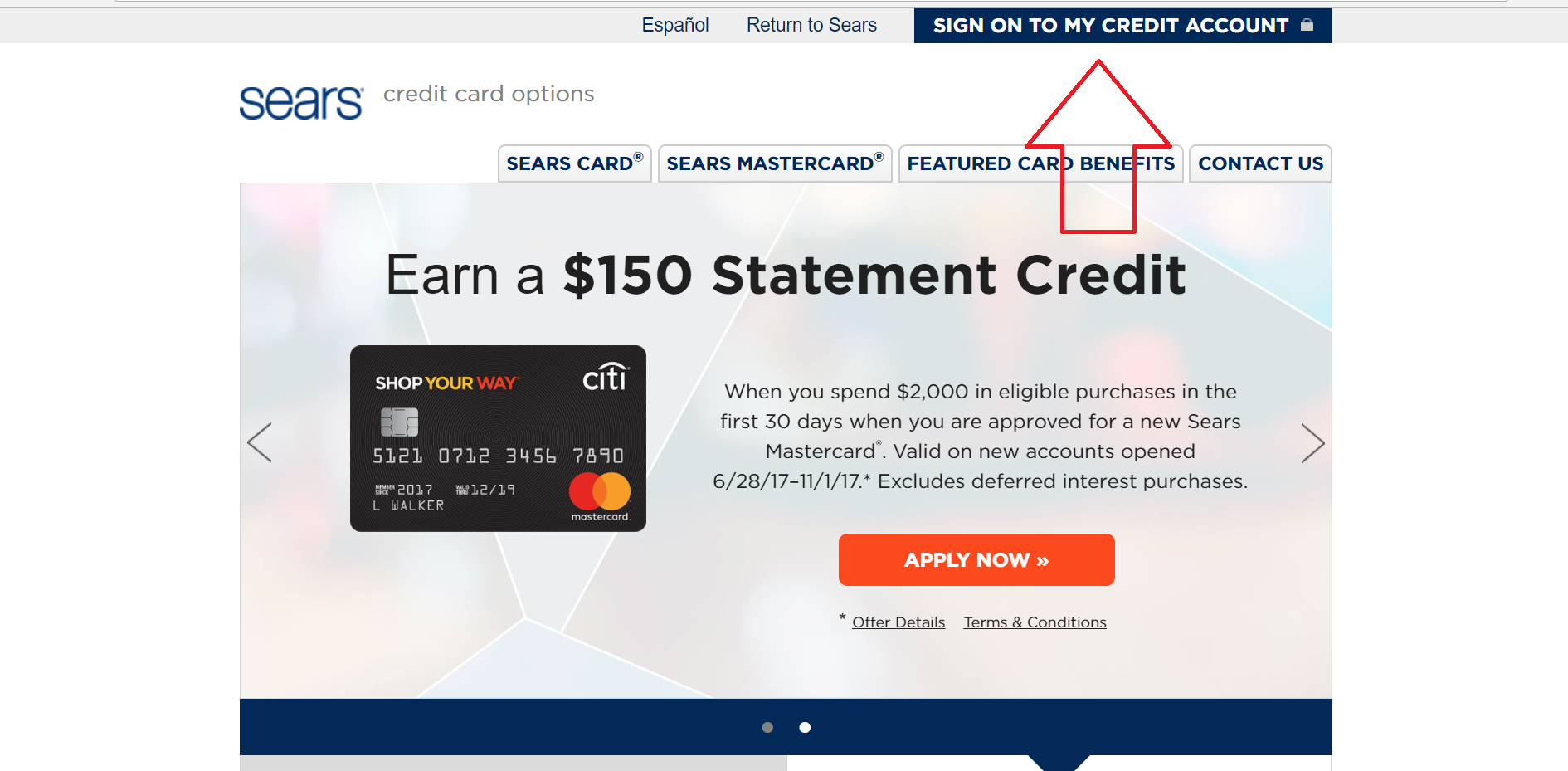 Sears Mastercard Payment in 12  Credit card reviews, Mastercard