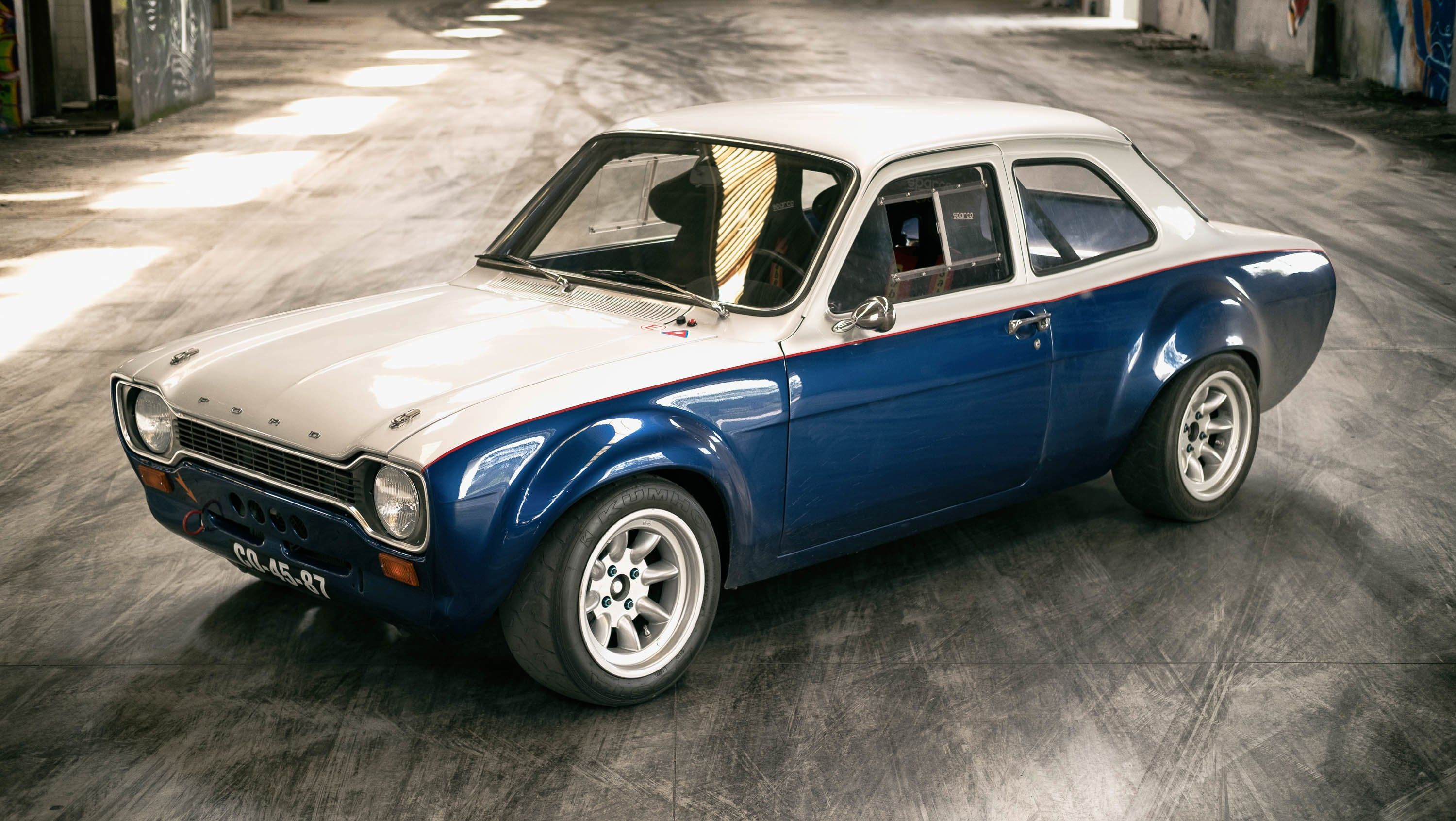Donuts - The way to sell a Ford Escort MK1 | Ford escort, Mk1 and Ford