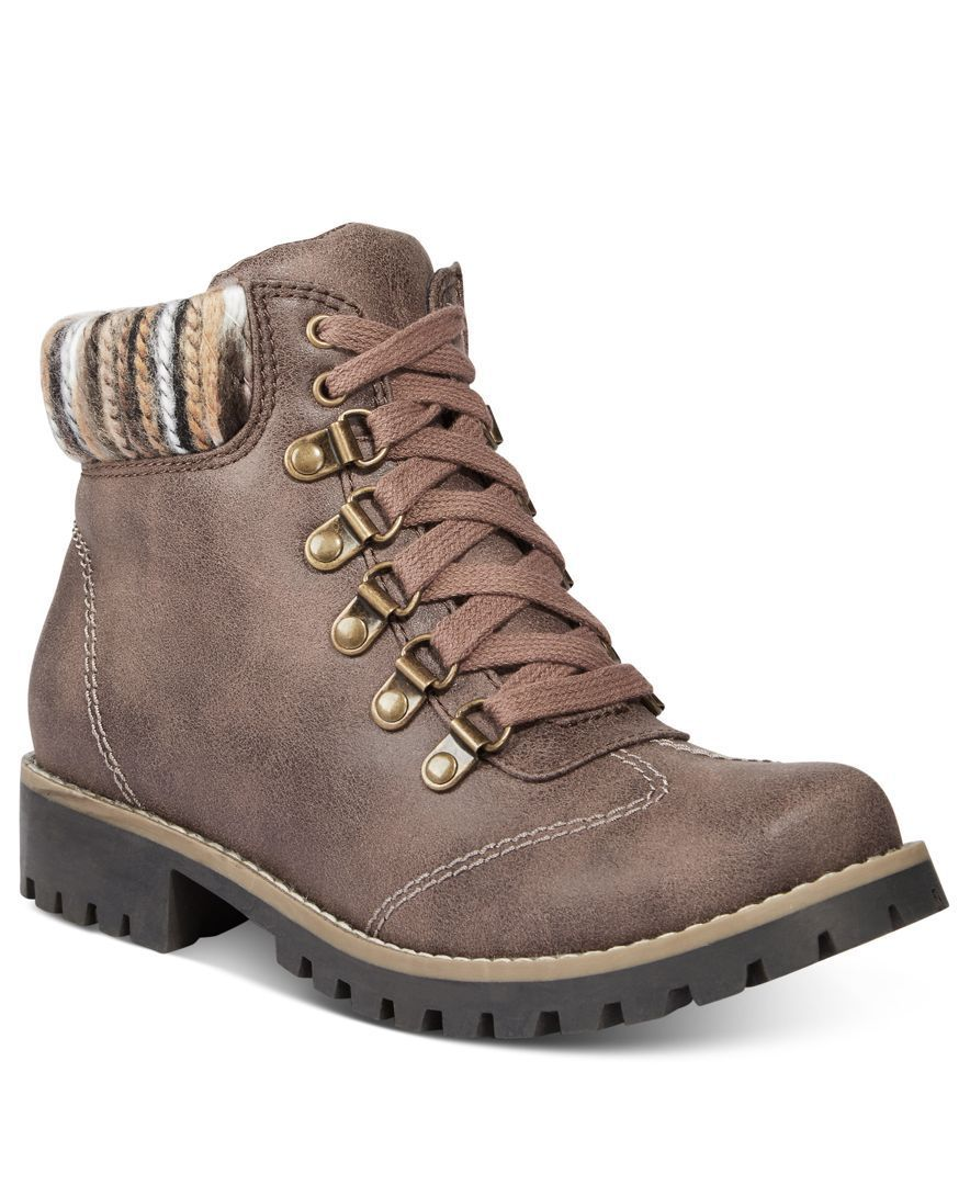Cliffs by White Mountain Portsmouth Lace-Up Hiking Boots   Seasons ...