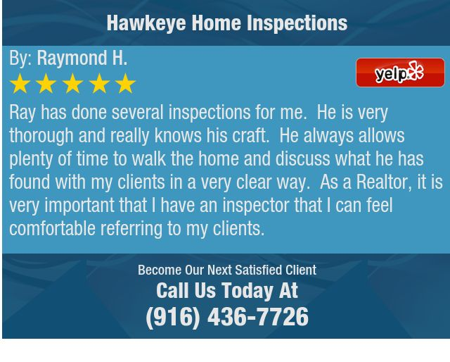 Ray Has Done Several Inspections For Me He Is Very Thorough And