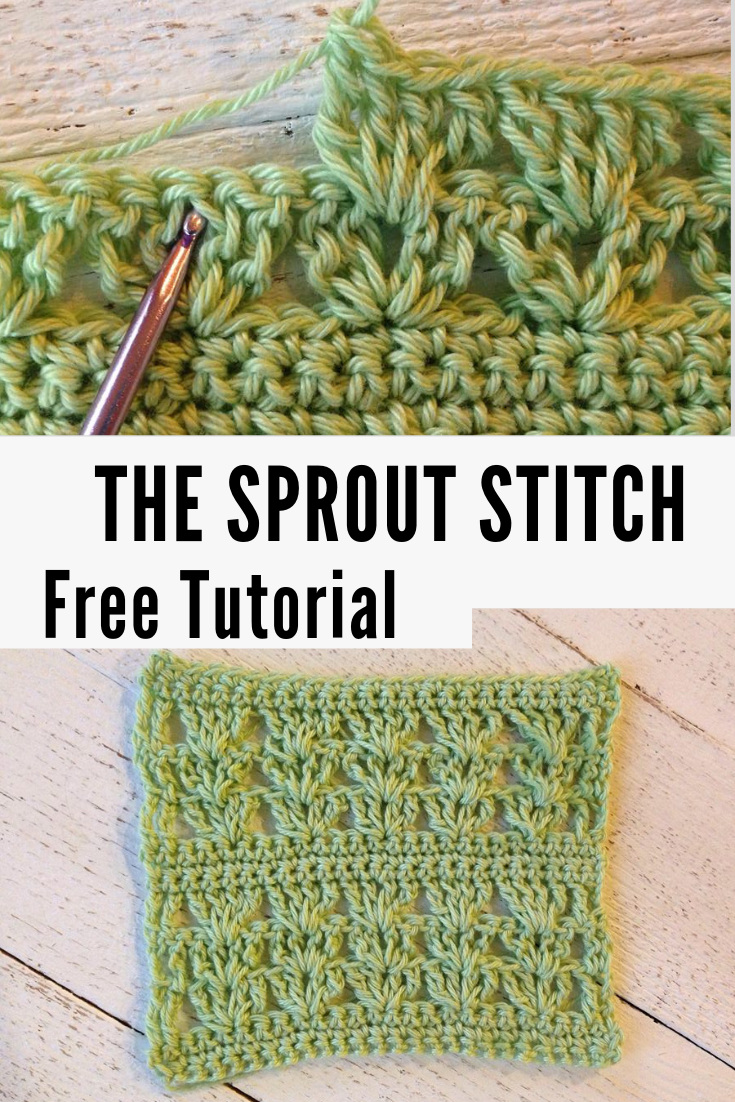 Sprout Stitch—Free Crochet Tutorial
