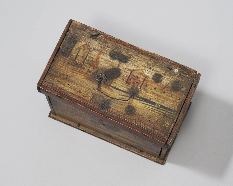 babbekistje uit eerste helft 19de eeuw, Marken