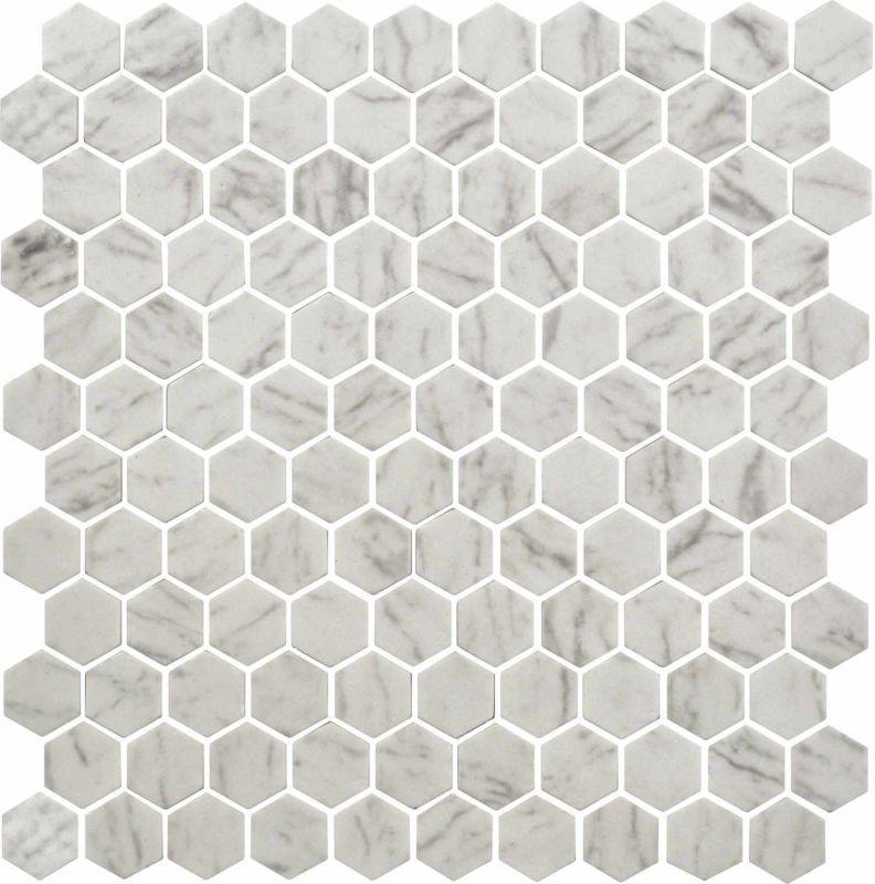 Daltile UP23-1HEXMS1P Uptown Glass Mosaics - 1\