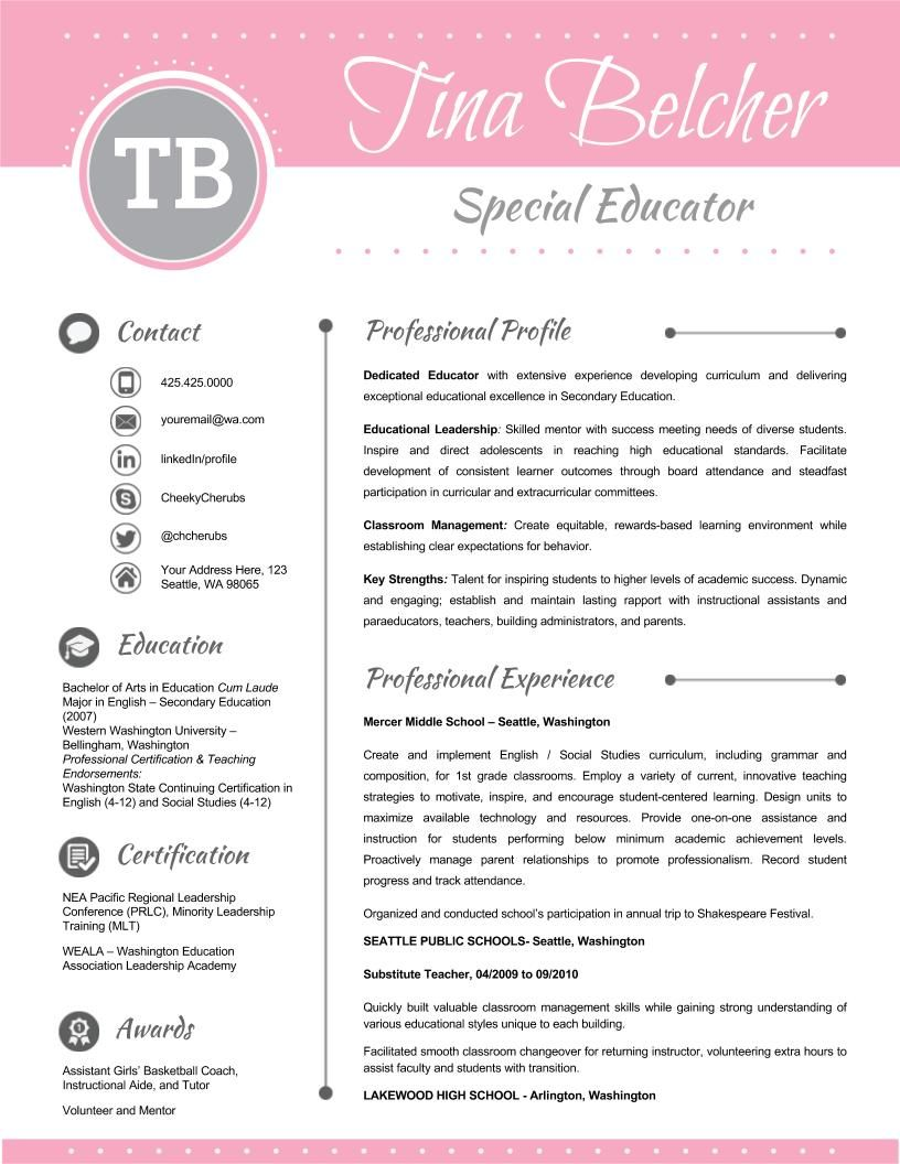 Resume Template + Cover Letter and Reference - EDITABLE ...
