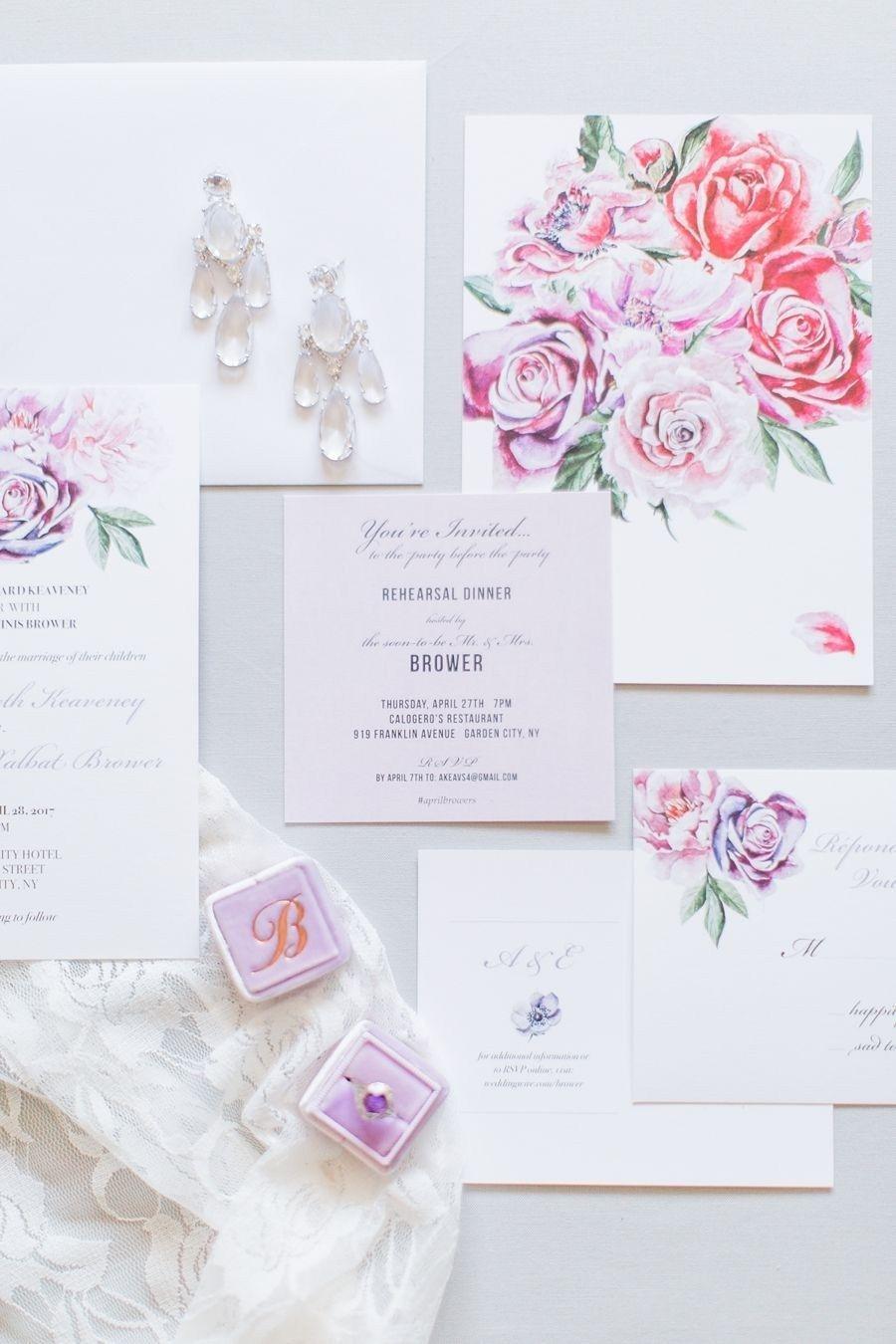 30 Great Image Of Spring Wedding Invitations Lavender Loving Springtime Pinterest: Unique Wedding Invitations Spring At Reisefeber.org