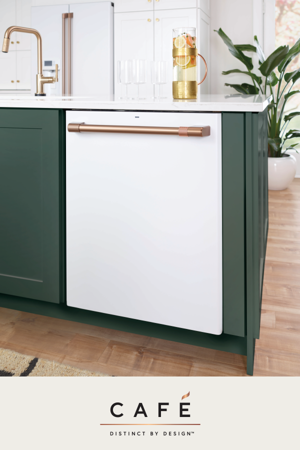 Create Your Own Kitchen Appliance Attitude With A Customizable Cafe Dishwasher Our Quiet D Dishwasher White Modern Kitchen Appliances White Kitchen Appliances