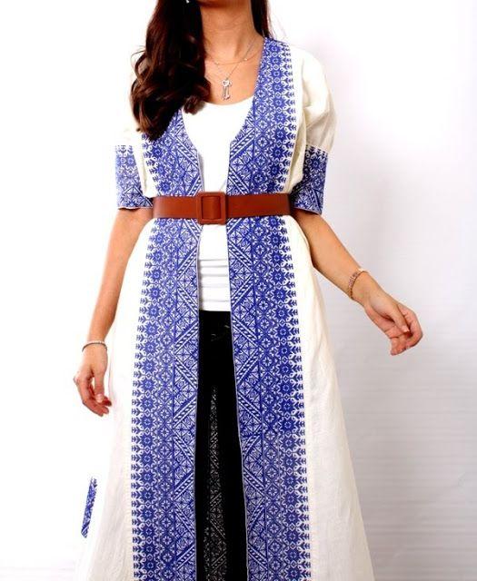 Neckessories Scarf Necklace Palestinian Embroidery Dress Hijabista Fashion Arabic Clothing