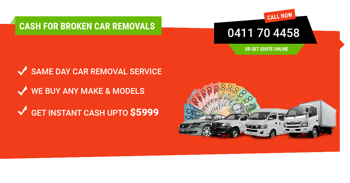 Car Removal Melbourne - Used, Old, Totalled, Accidental, Salvaged ...