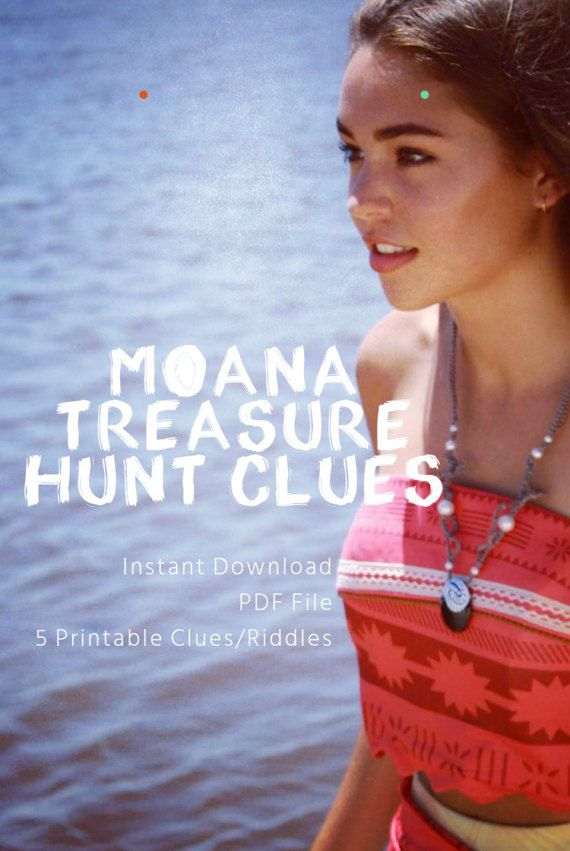 f6dd71d410c944 DIY Printable Princess Treasure Hunt Game! This Moana Princess Inspired  Treasure Hunt is the perfect party game addition to make your Princess  Party even ...
