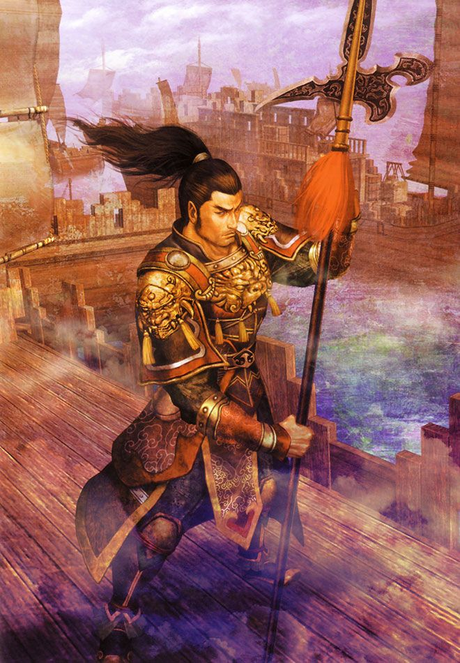 Lu Meng Wu Characters Art Dynasty Warriors 5 Warrior Images Dynasty Warriors Samurai Warrior