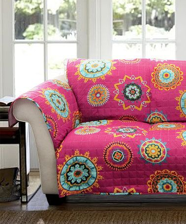 Fuchsia Ashbury Furniture Protector | Living rooms and Room