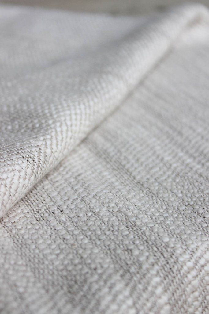 Slub Cotton Linen Upholstery Fabric