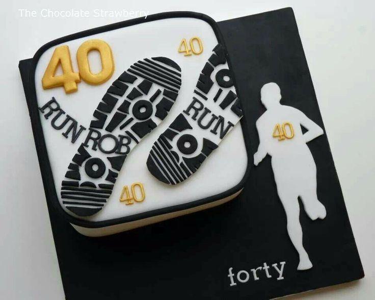 Cake Decorating Ideas Runners : running cake designs - Google Search Cake Decorating Pinterest Running cake, Cake designs ...