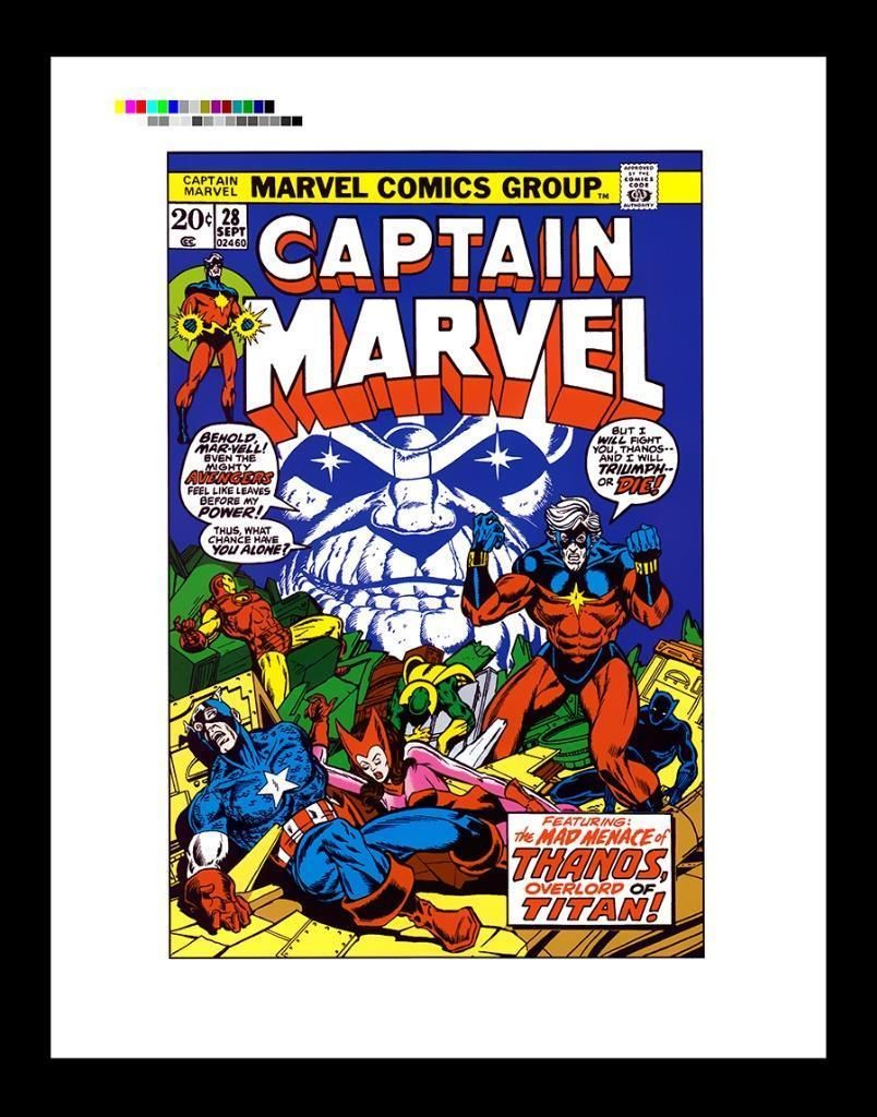 details about marvel comics captain america #125 cover rare