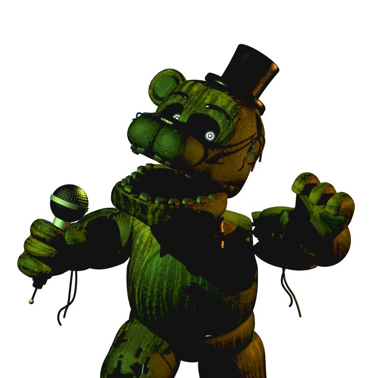 Phantom Freddy Freddy 3 0 From Fnaf 3 With Images