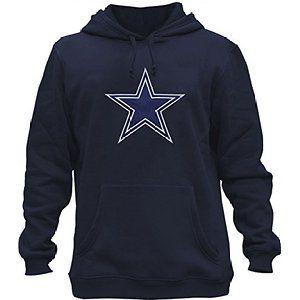 2a8149a7 Clor Mens Dallas Cowboys Super Athletic Pullover Hoodie | Dallas ...