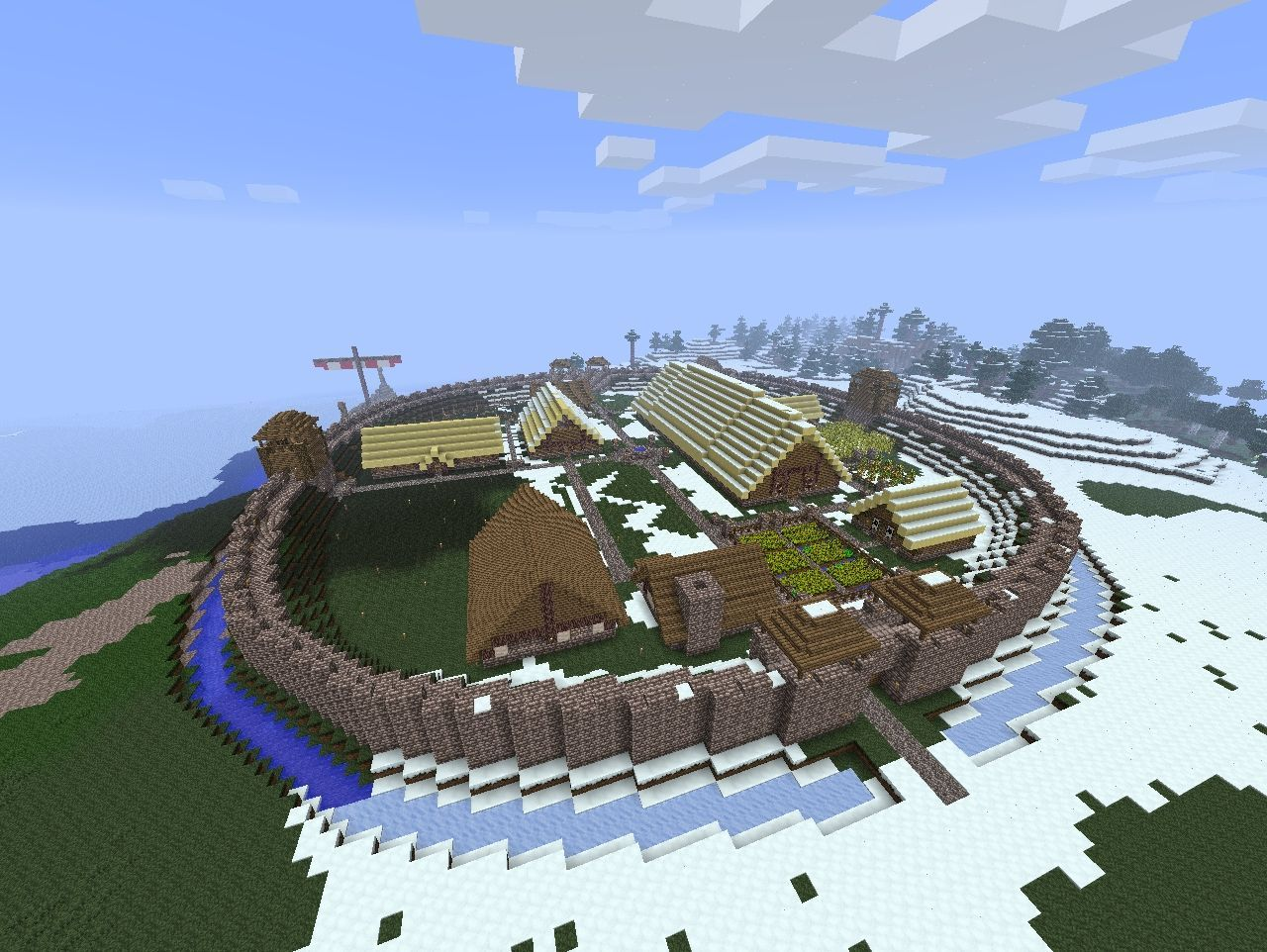 Viking Fort Minecraft Project