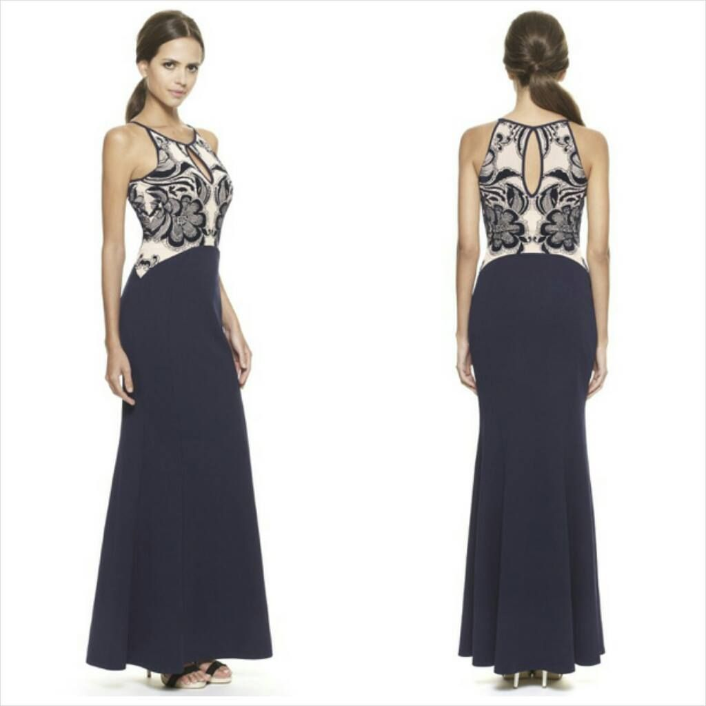 Beautiful Black & WhiteLong Gown @ Rs. 2395. Book Order @ +91 ...