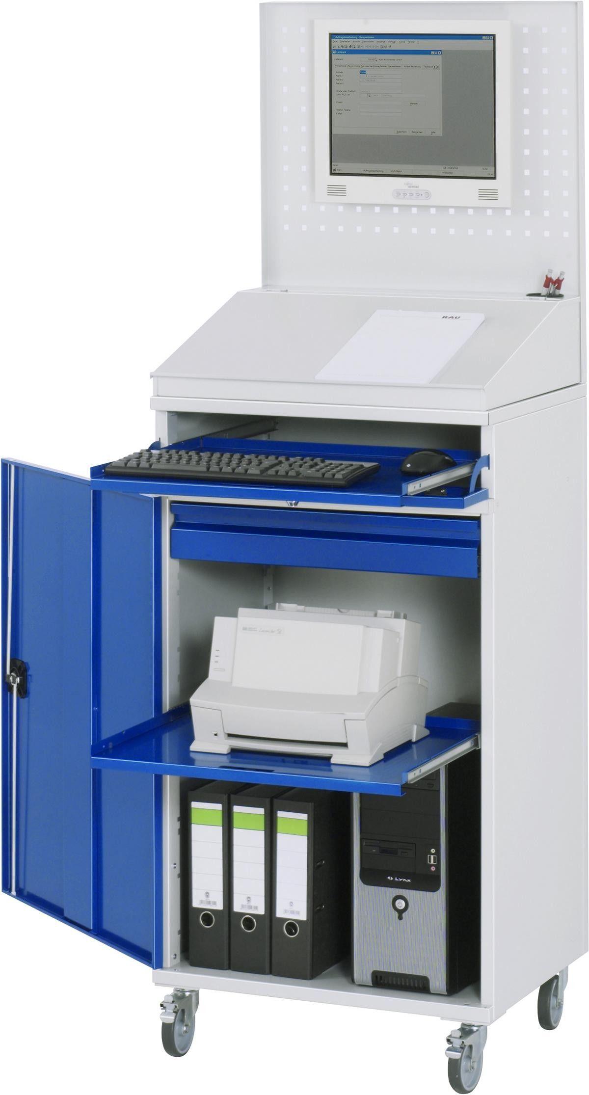 Computer Schrank Modell 61 650x520x1895mm Fahrbar Gtardo De In 2020 Schliessfacher Schrank Computer