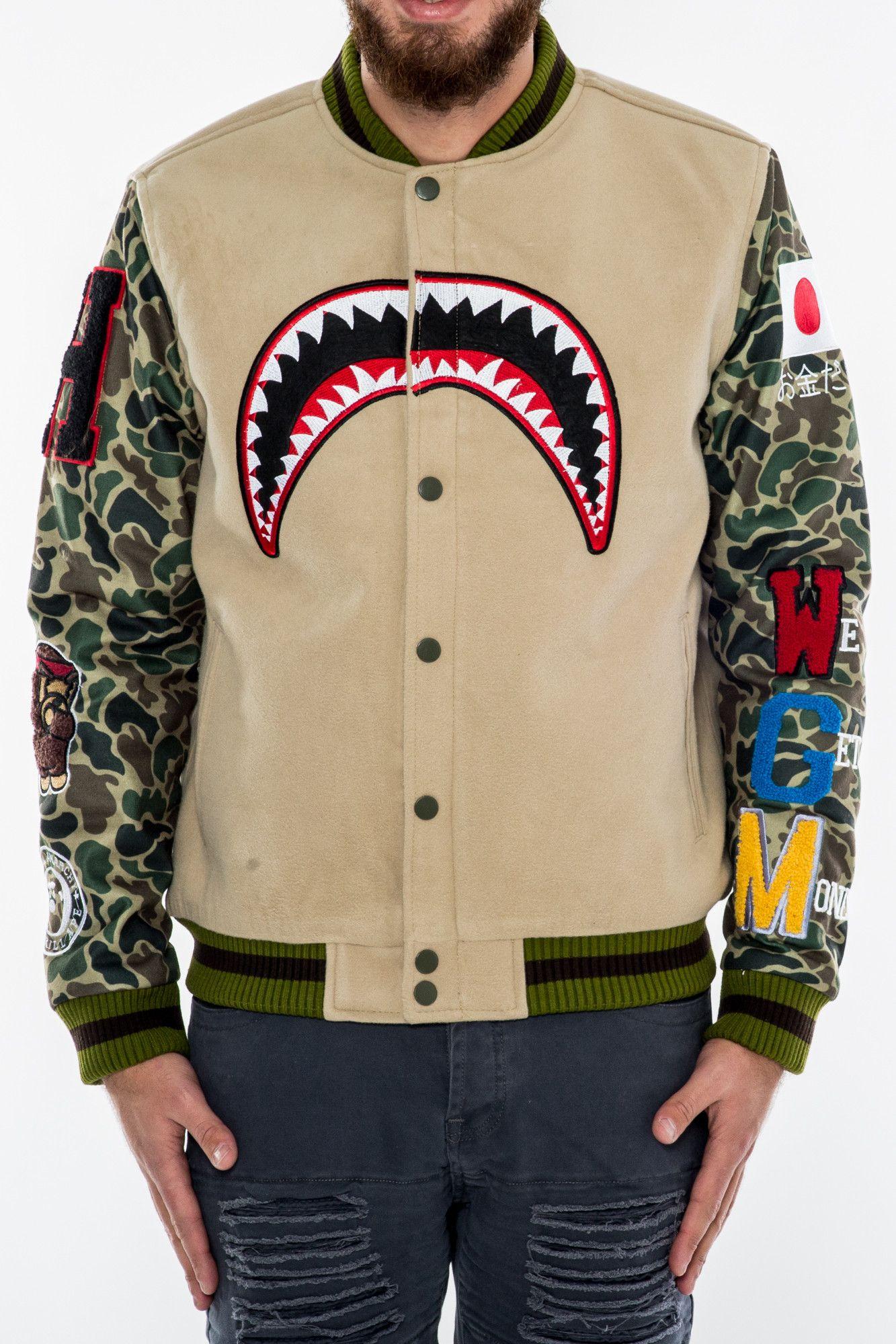 We Killed Ape Varsity Jacket Tan From Hudson Outerwear Varisty Jacket Jackets Varsity Jacket [ 2000 x 1333 Pixel ]