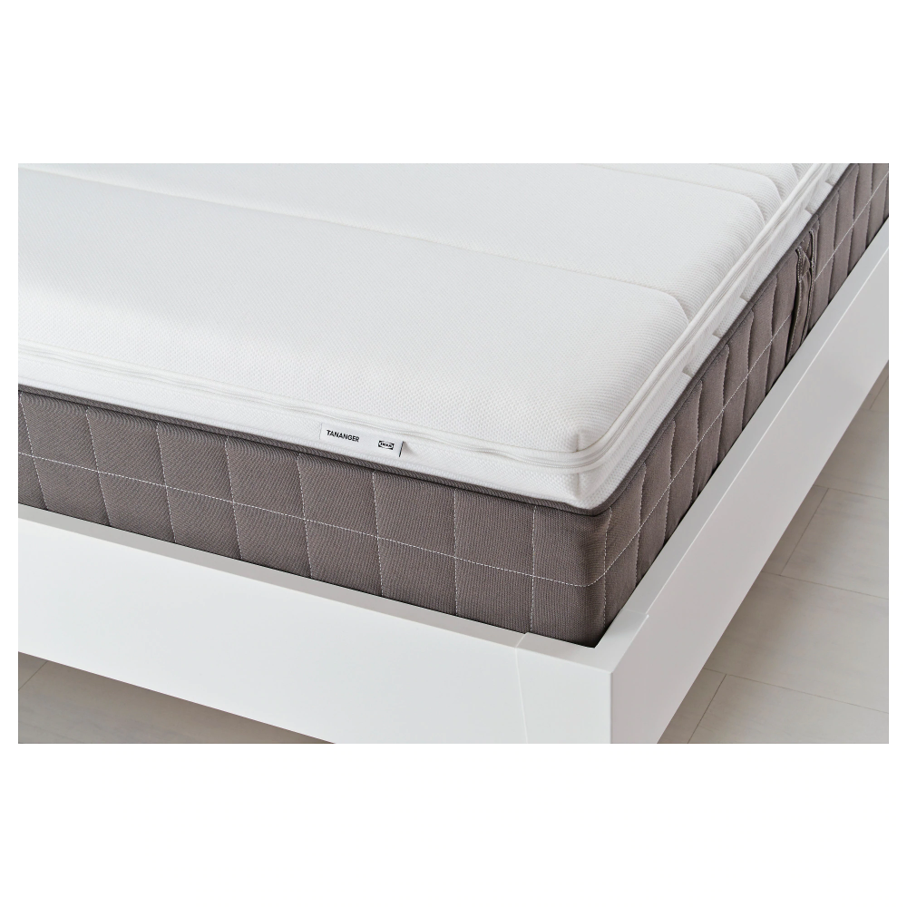IKEA TANANGER White Mattress topper Mattress, Foam