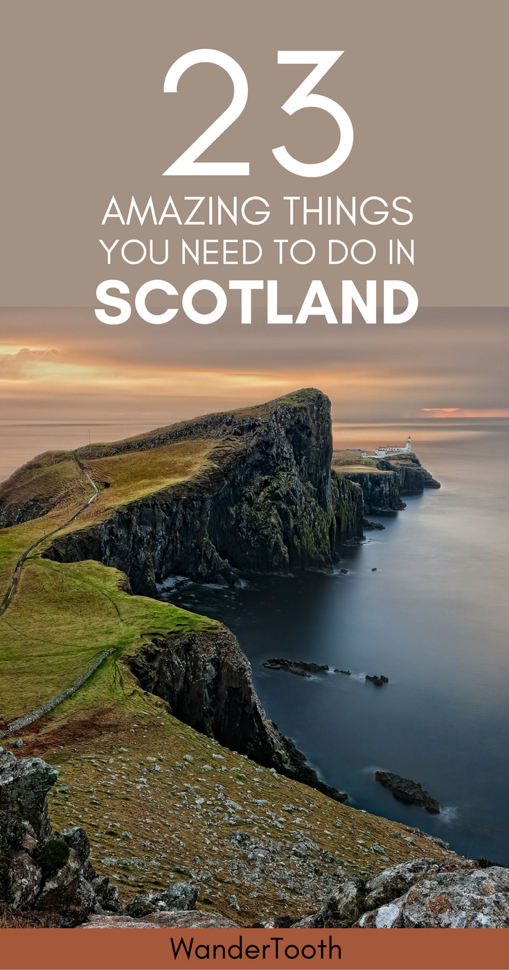 The best places to visit in Scotland, UK. Scotland Travel Tips and everything you need to know about this magical region. | What to do in Scotland | Best things to do in Scotland | Scotland castles | Scotland highlights | Edinburgh | Scotland Travel Itinerary - @WanderTooth