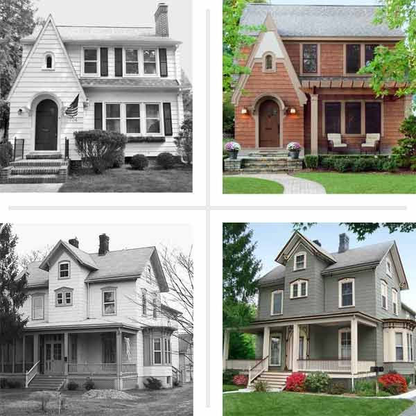 Curb Appeal Before And Afters Old Houses Curb Appeal Old Home Remodel