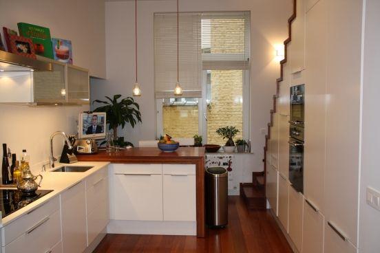 Keuken Onder Trap : Kast onder trap schoolmeubel op maat