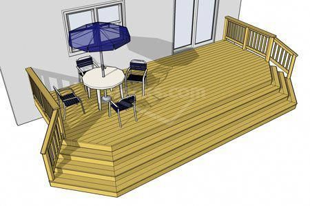 Best Decks Com Cost To Build A Deck Deckbuildingcost Stair 400 x 300
